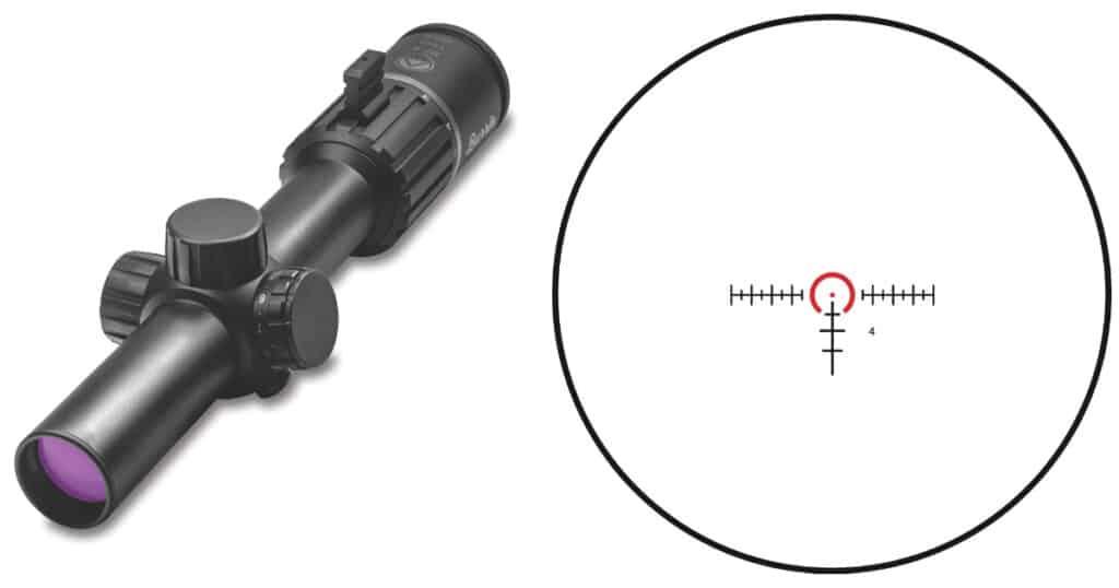Burris RT-6 Riflescope and Reticle