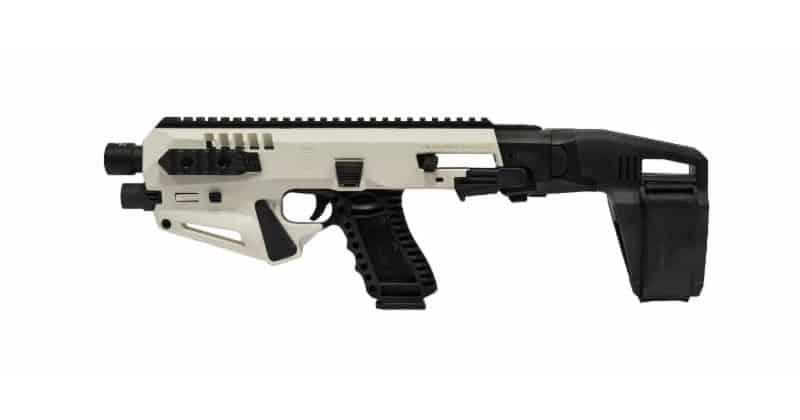 CAA White Micro RONI Stabilizer Pistol Carbine Conversion