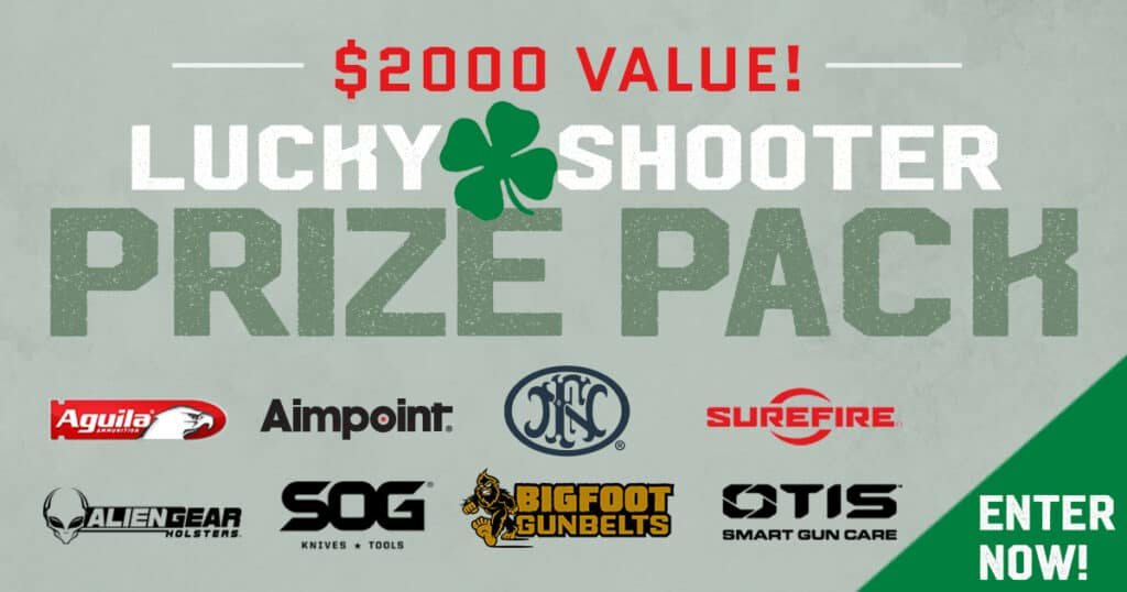 Lucky Shooter Prize Pack