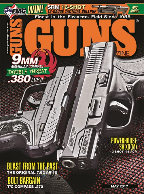 Ruger American Compact and LCP II in GUNS Magazine