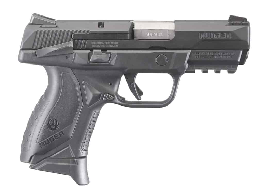 Ruger American Pistol Compact 45 Auto with Manual Safety