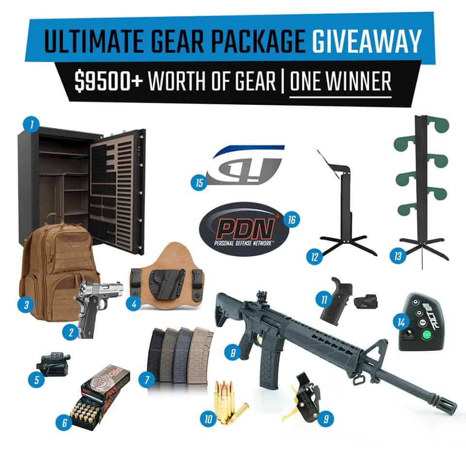 Ultimate Gear Package Giveaway