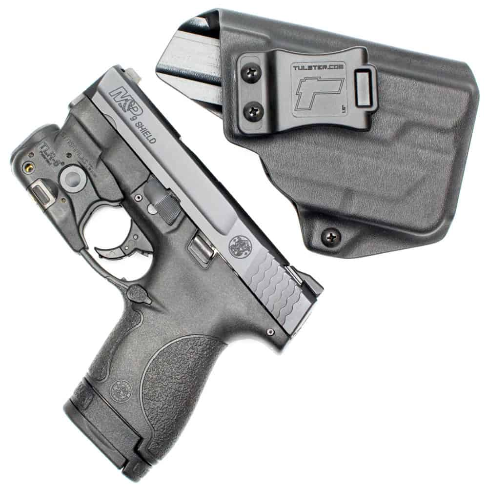 Tulster Profile Holster for M&P Shield 9-40 with Streamlight TLR-6