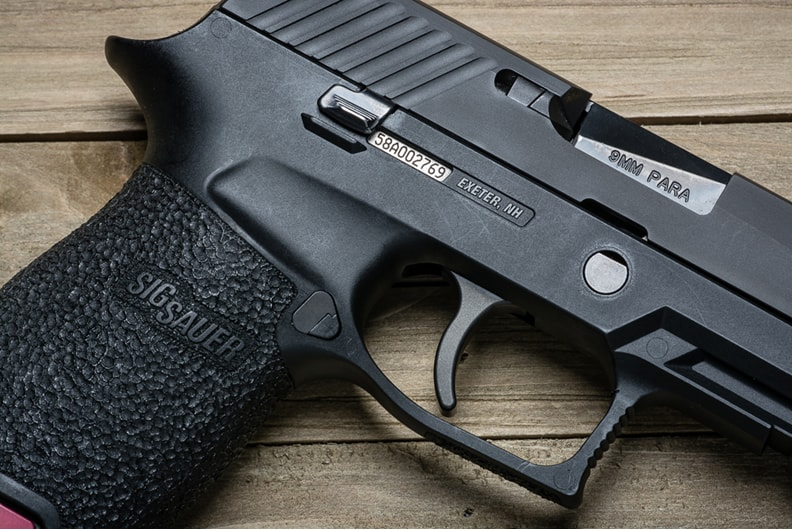 Apex Curved Advanced Trigger for Sig Sauer P320