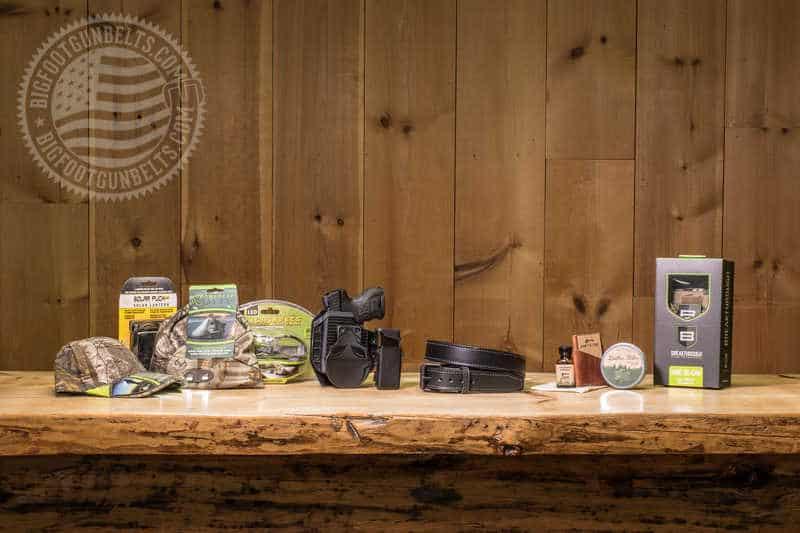 Bigfoot Gun Belts Spring Clean Giveaway