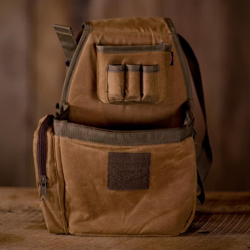 Birchwood Casey Waxed Canvas Shell Bag