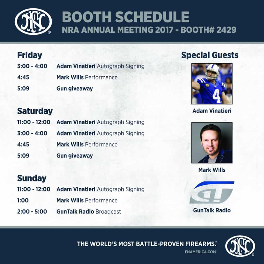 FN Celebrity Appearances at 2017 Annual Meetings