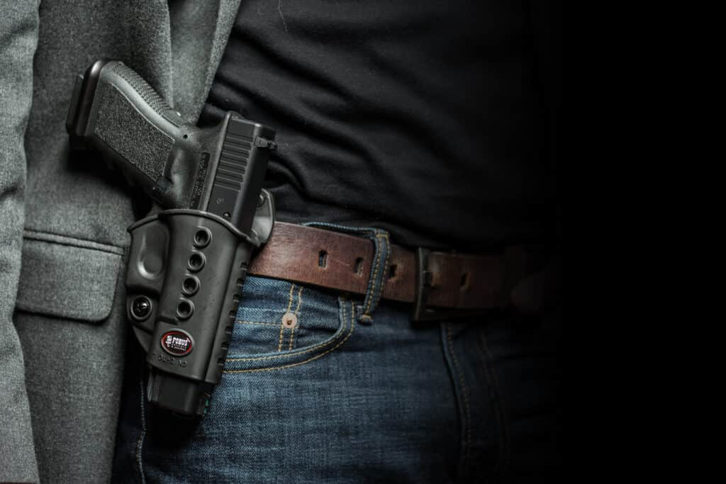 Fobus Holsters and Mag Pouches at Concealed Carry Expo