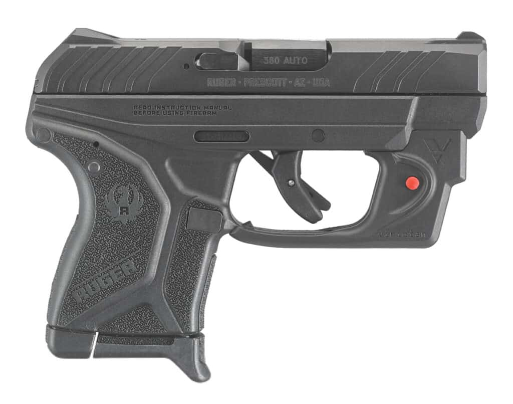 Ruger LCP II with Viridian E-Series Laser