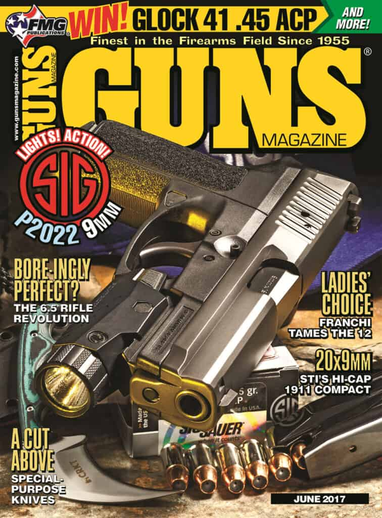 SIG SP2022 in GUNS Magazine