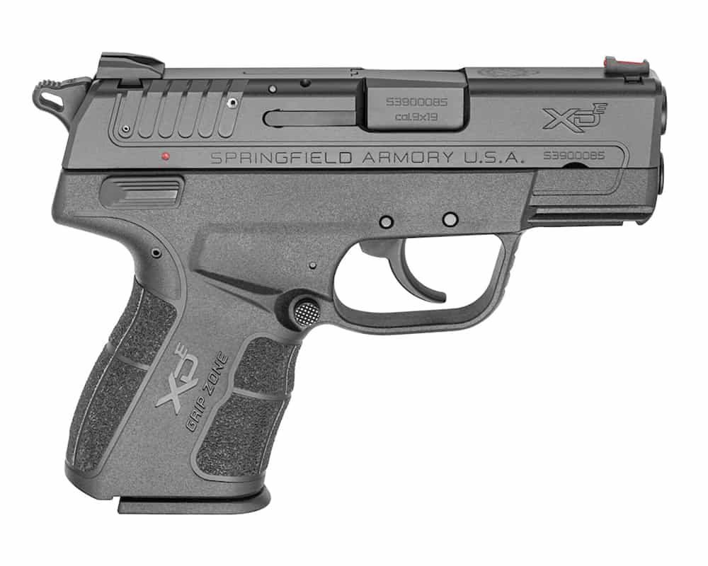 Springfield Armory XD-E Hammer-Fired Single-Stack 9mm Compact Pistol