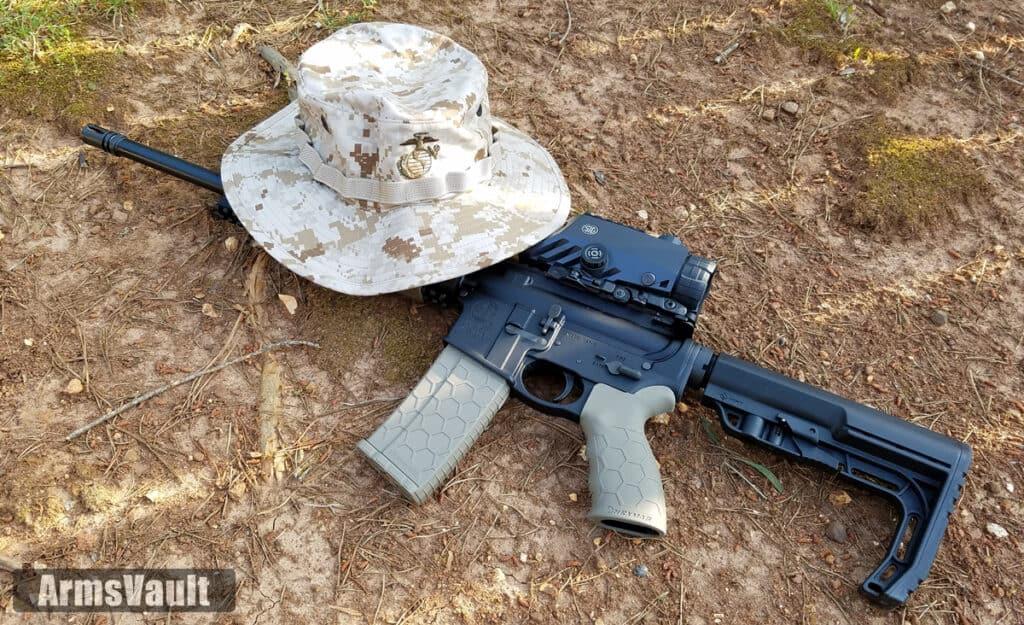 USMC Boonie Hat in Digital Woodland MARPAT Camouflage Pattern