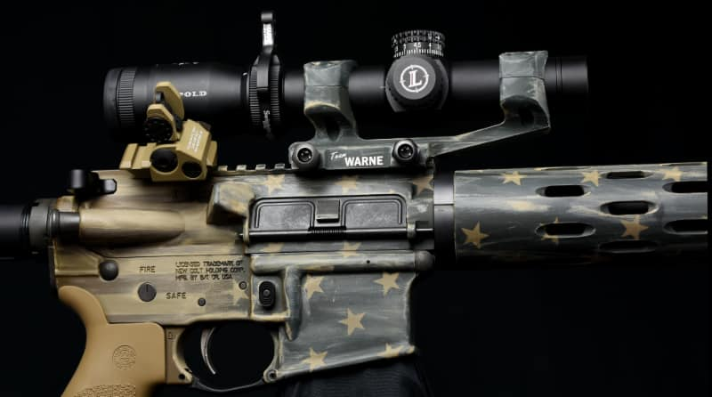 Warne to Give Away Colt Competition CRX-16 Rifle at NRA Show