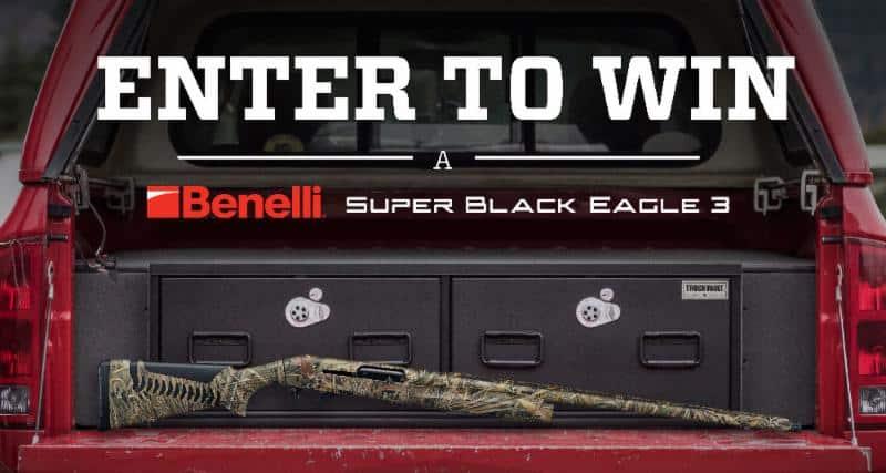 Win a Benelli Super Black Eagle 3 Shotgun from TruckVault
