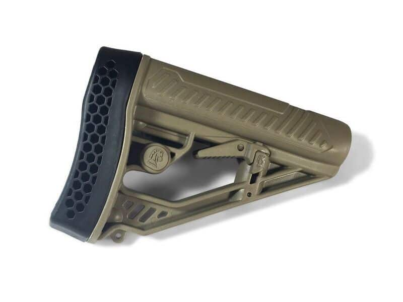 Adaptive Tactical EX Performance Adjustable M-4 Style Stock in FDE