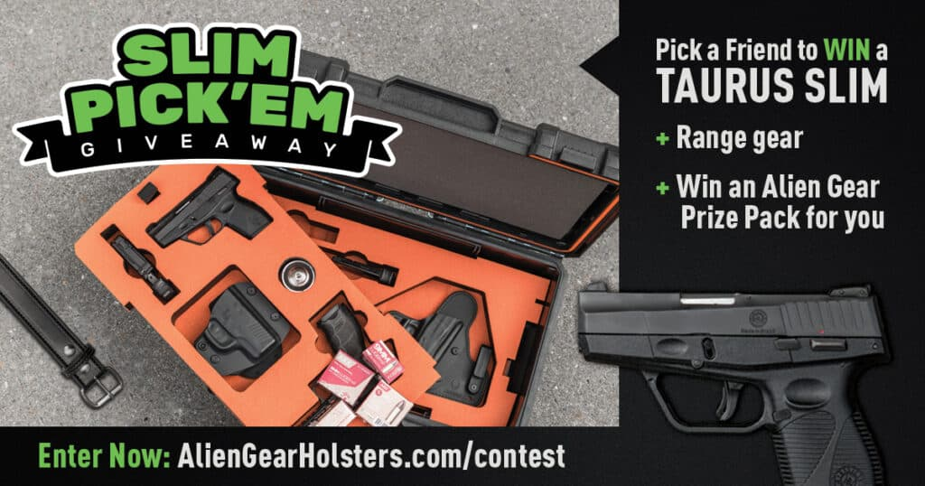 Alien Gear Holsters Taurus Giveaway