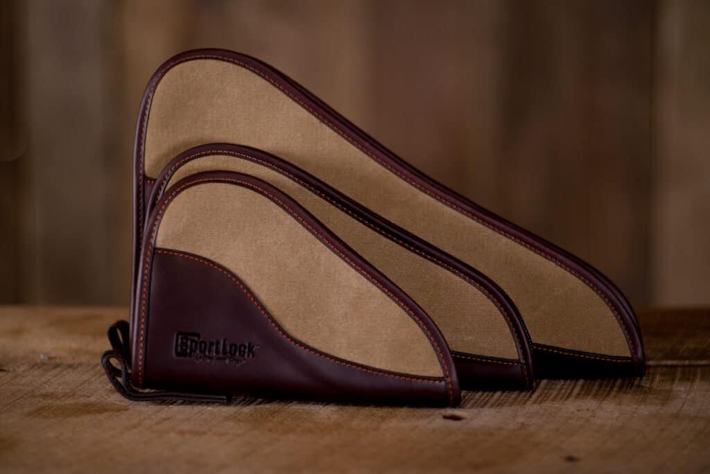 Birchwood Casey SportLock Leather and Canvas Handgun Cases
