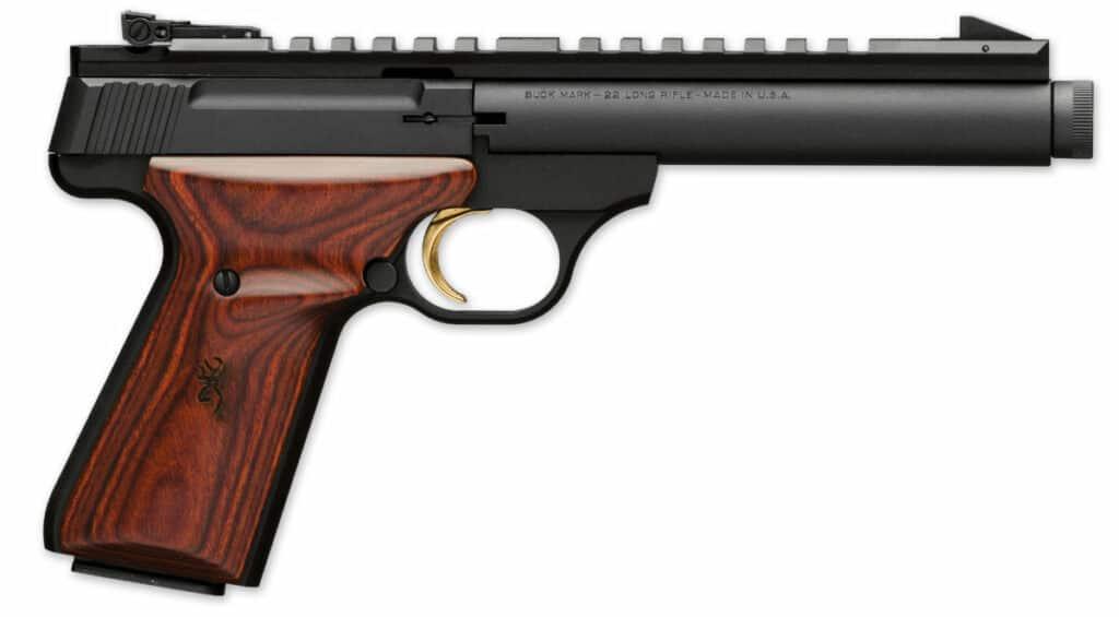 Browning Buck Mark Field Target Suppressor Ready