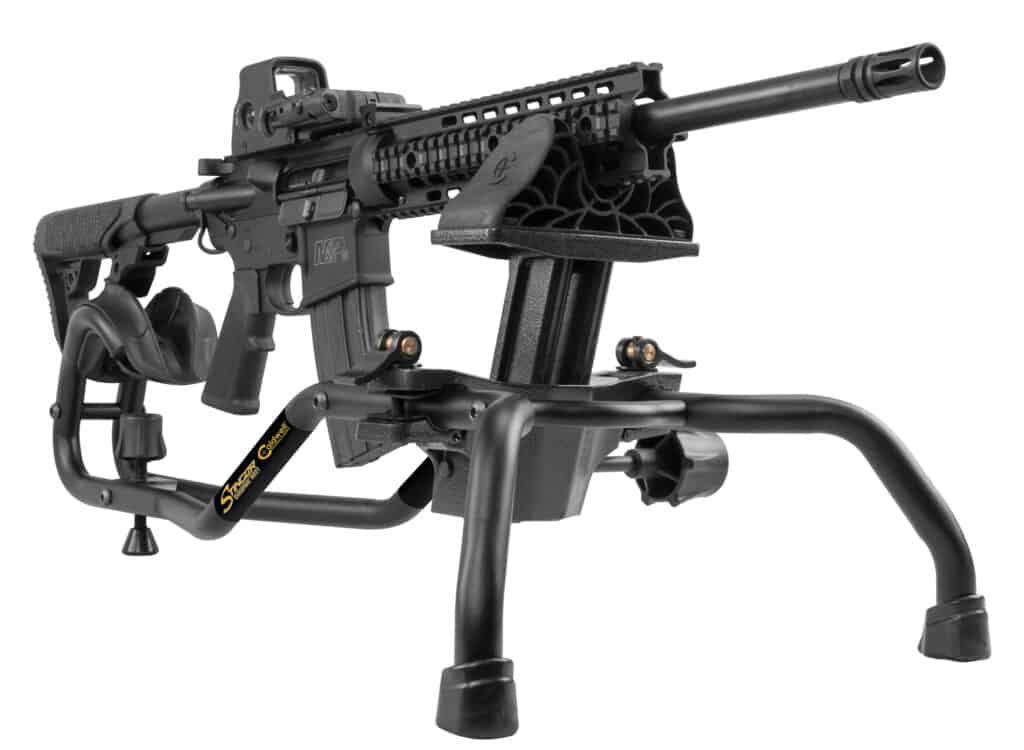 Caldwell Stinger Shooting Rest with AR-15