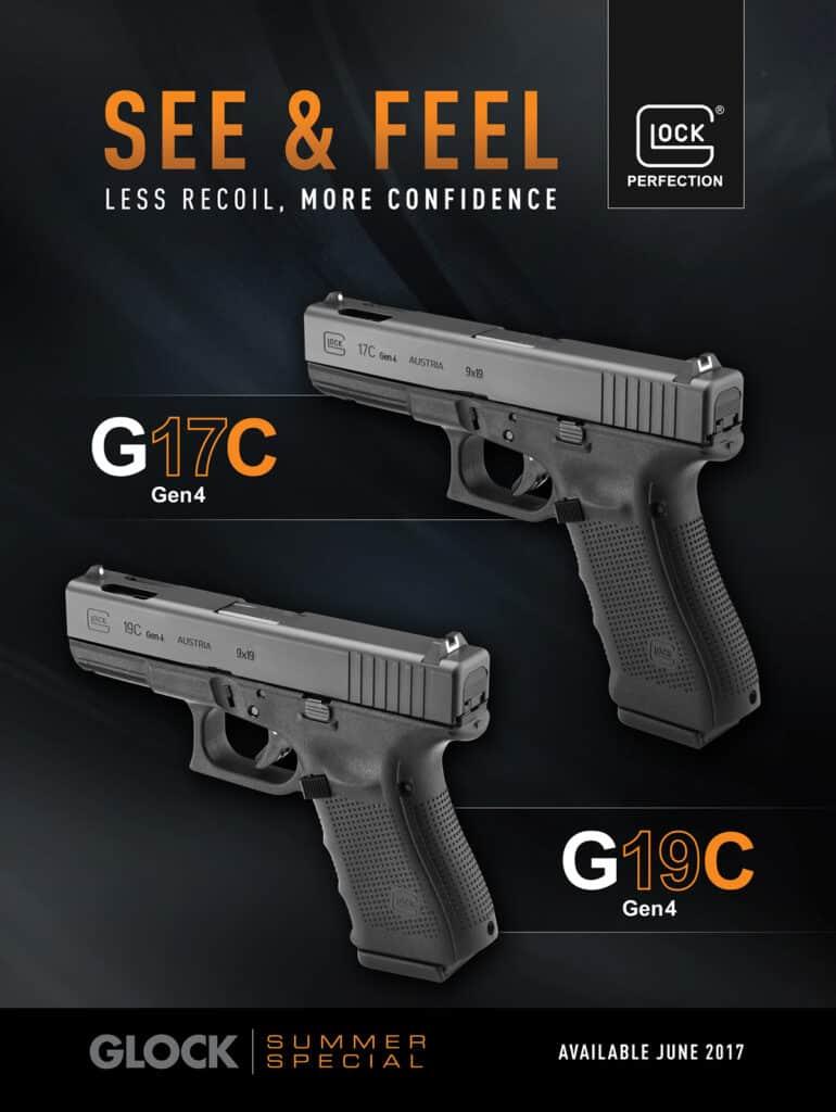 Glock G17C Gen4 and G19C Gen4