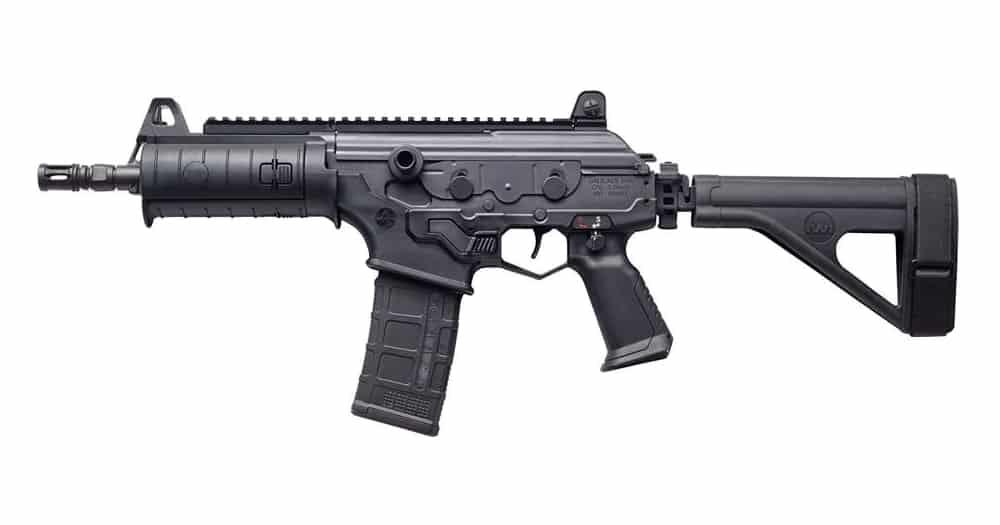 IWI Galil ACE Pistol in 556 with Side Folding Stabilizing Brace