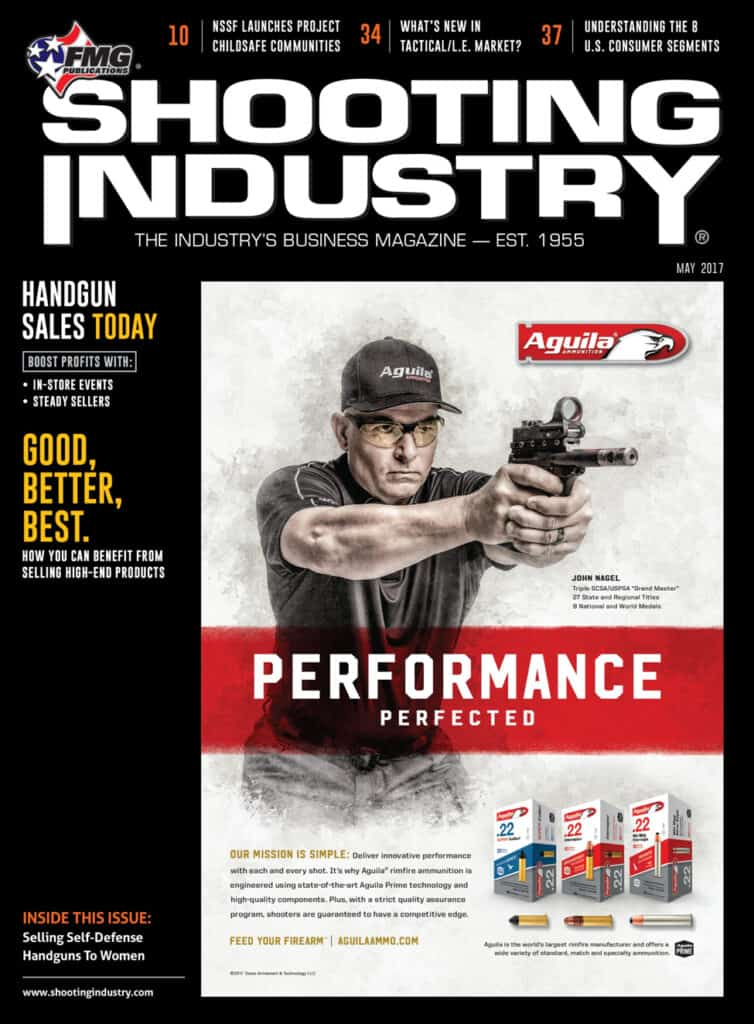 Shooting Industry May 2017 - Handgun Sales