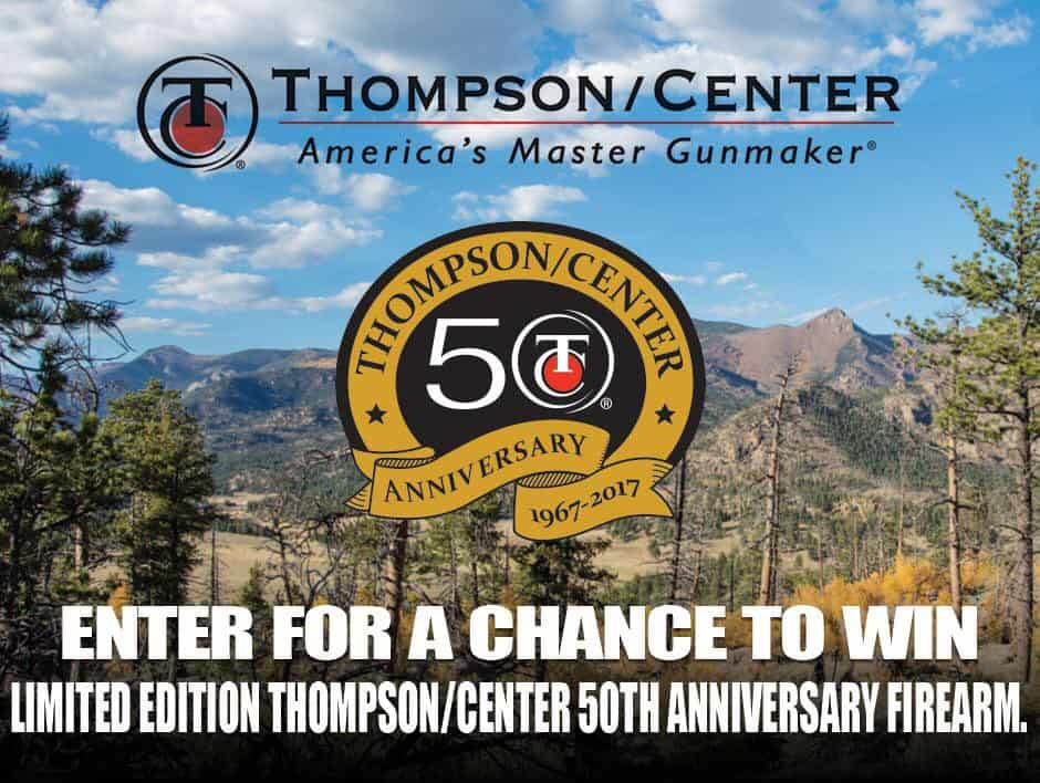 Thompson-Center Arms 50th Anniversary Sweepstakes