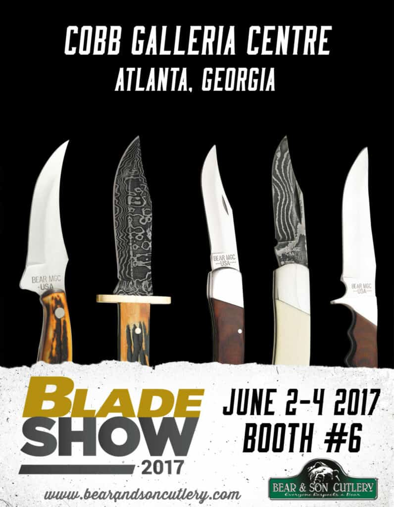 Bear & Son Cutlery at Blade Show 2017