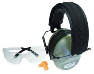 Birchwood Casey Krest 24 Muffs and Vektor Shooting Glasses