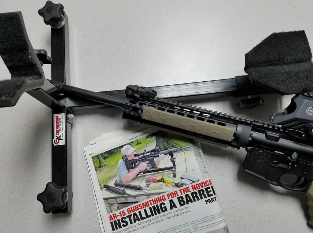 CTK Precision P3 Ultimate Shooting Rest in Firearms News Magazine