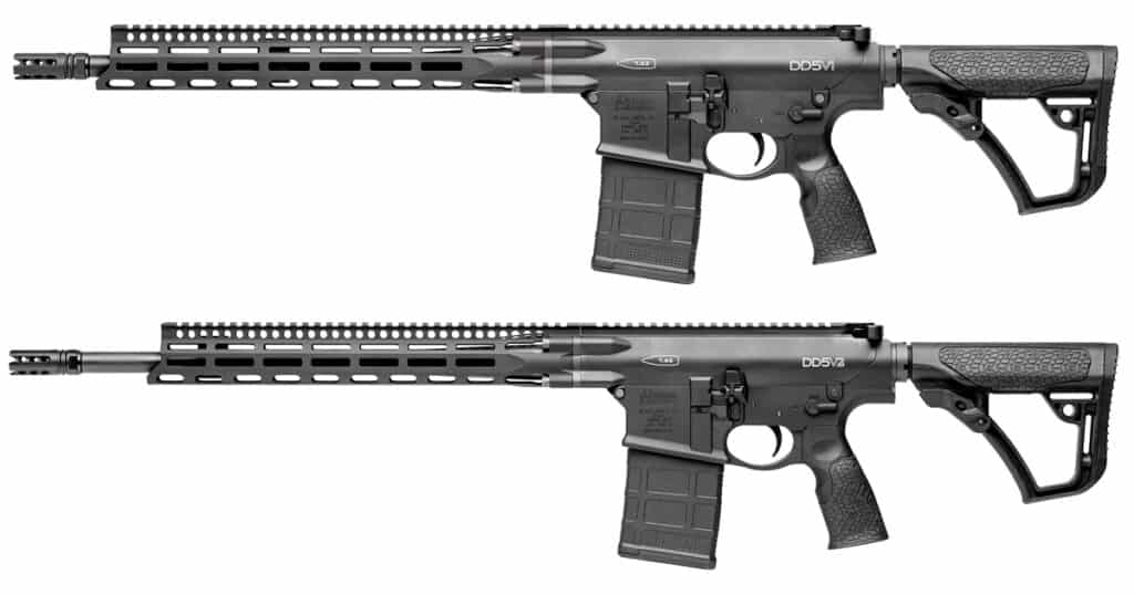 Daniel Defense DD5V1 & DD5V2 - MLOK