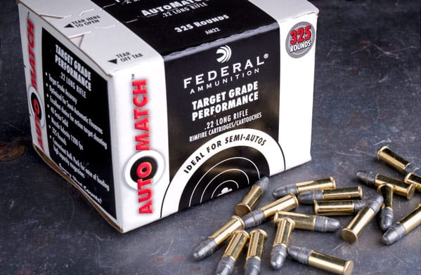 Lucky Gunner - Federal 22LR AutoMatch Ammunition