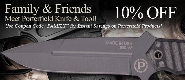 Porterfield Knife & Tool Discount