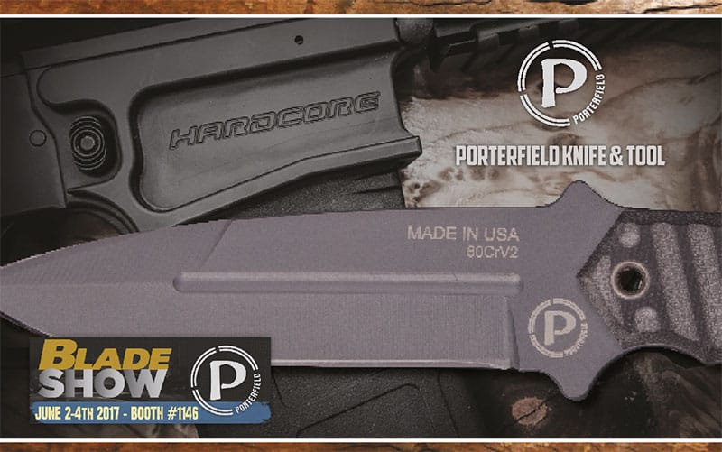 Porterfield Knife & Tool at Blade Show 2017