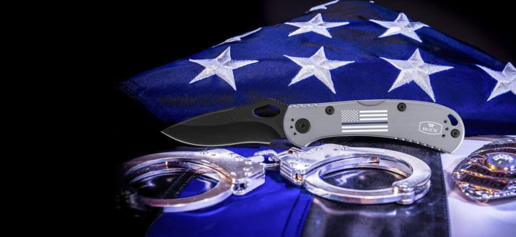 Buck Knives 722 Blue Line SpitFire