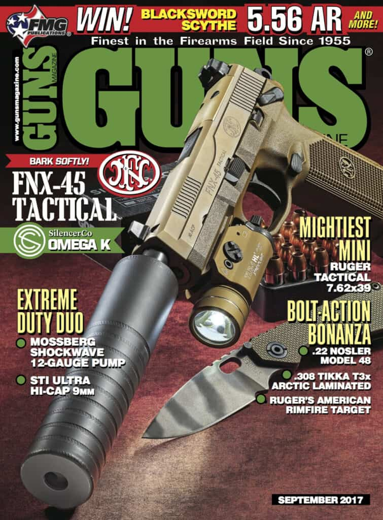 GUNS Magazine - September 2017