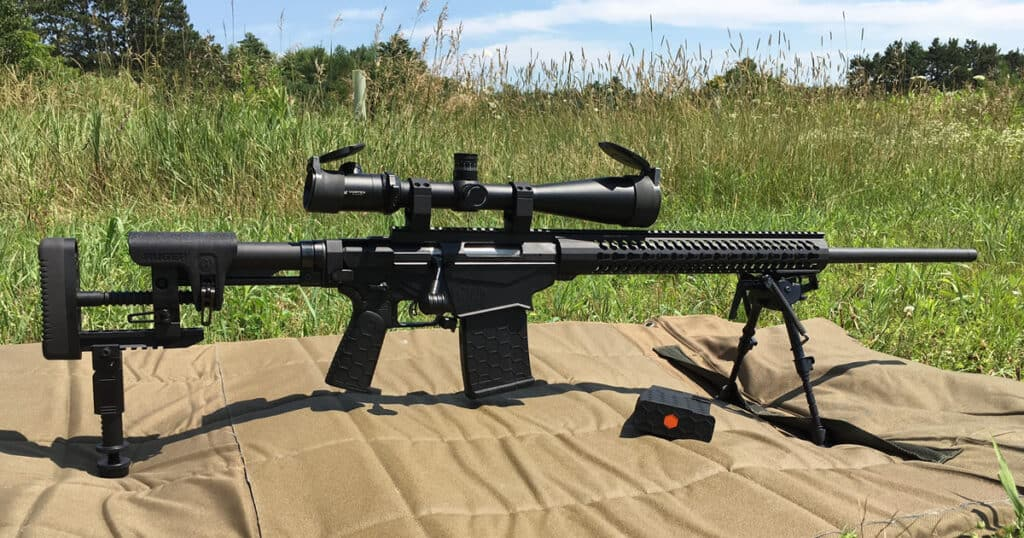 Ruger Precision Rifle with CTK Precision and Hexmag Accessories