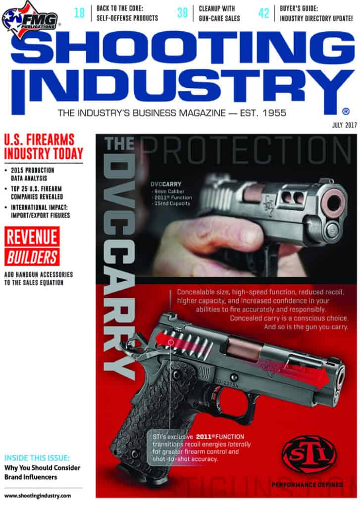 Shooting Industry - US Firearms Production Revealed, Firearm Manufacturers