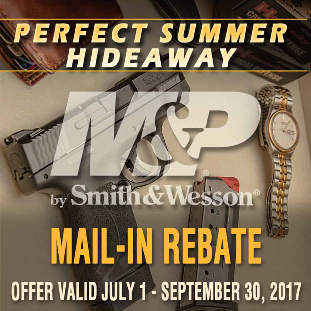 Smith & Wesson M&P Pistol Rebate