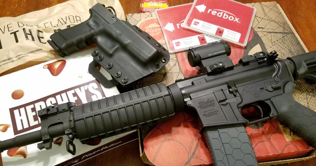 Windham Weaponry SRC with Glock 17