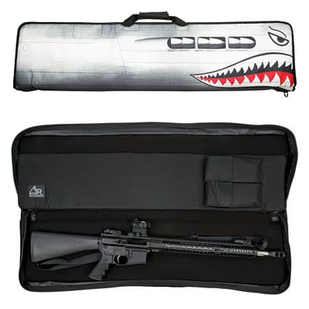 AR-Stoner Heavy Duty Discreet Tactical Rifle Case with Nose Art