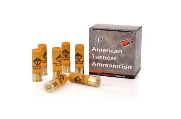American Tactical 20 Gauge Shotgun Ammunition
