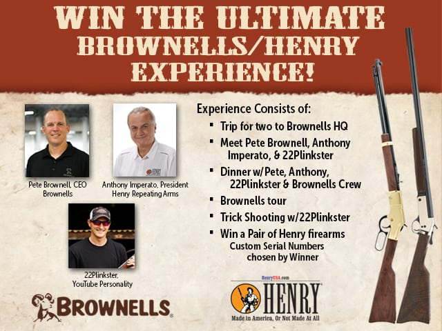 Brownells & Henry Repeating Arms Giveaway