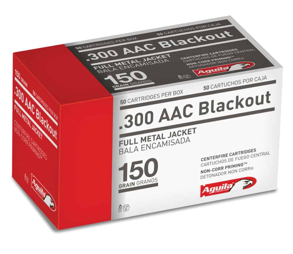 Aguila 300 AAC Blackout Ammunition