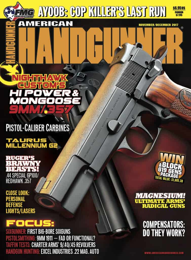 American Handgunner Nov-Dec Issue