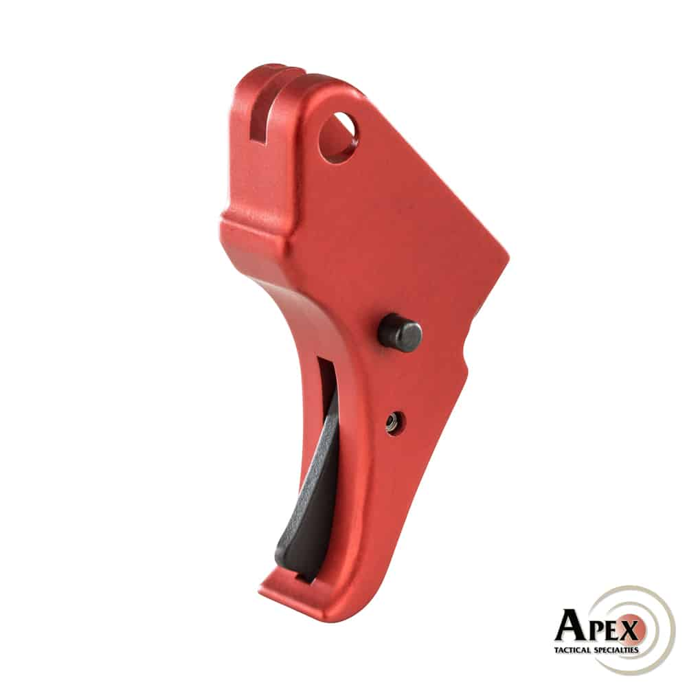 Apex Action Enhancement Red Trigger for the M&P Shield