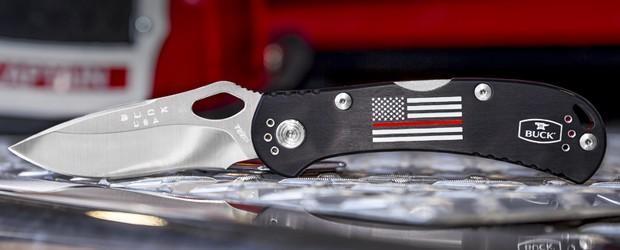Buck Knives 722 Red Line SpitFire