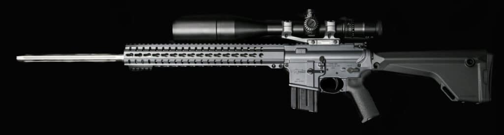 CMMG Mk4 Rifle in 22 Nosler