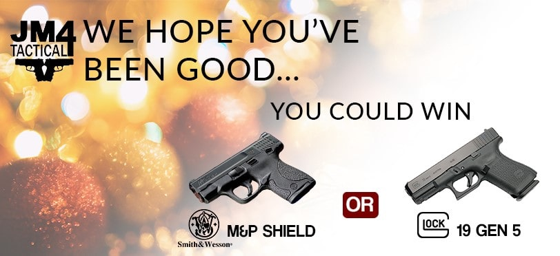 JM4 Tactical Pistol and Holster Giveaway