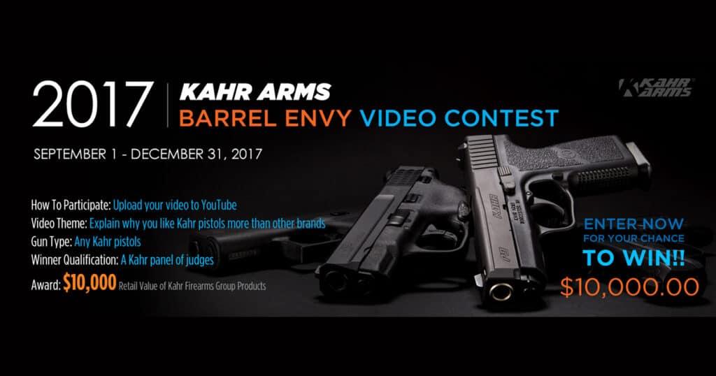 Kahr Arms Barrel Envy Video Contest